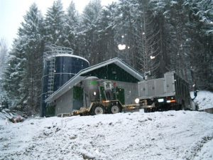 Pump house for community water system in Boston Bar BC - AJ Pumps