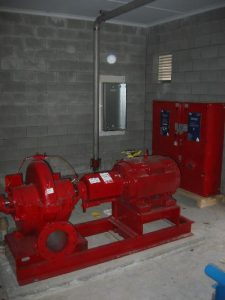 Commercial Booster Pump Station installation in Chilliwack, BC by AJ Pumps