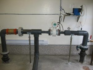 In-line pressure monitoring for Commercial Water Treatment System at Harrison Resort - AJ Pumps