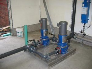 Control room for Commercial Water Treatment System at Harrison Resort by AJ Pumps