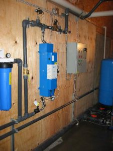 Power Control box for RV Park Water Distribution System in Chilliwack, BC by AJ Pumps