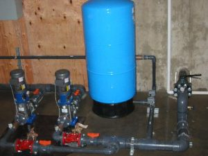 Pressure tank for RV Park Water Distribution System in Chilliwack, BC by AJ Pumps